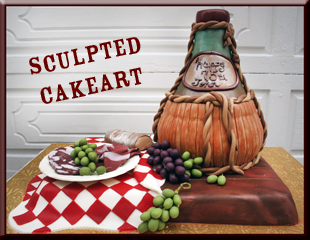 Sculpted CakeArt